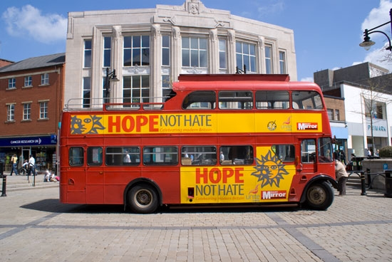 Hope Not Hate Bus