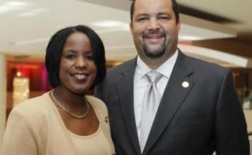 NAACP Chair Roslyn Brock and President Benjamin Todd Jealous