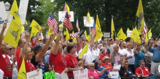 Indiana Tea Party Express Rally