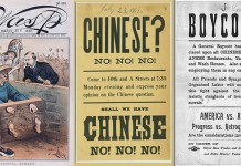 Artifacts from the End of the 19th Century Depict Nativist Fervor Directed at Chinese Immigrants.
