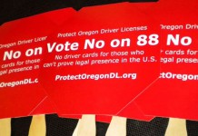 The nativist political committee Protect Oregon Driver Licenses was among the reasons Measure 88 went down to defeat in Oregon